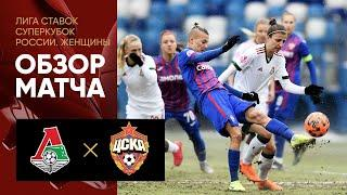08.03.2021 Локомотив - ЦСКА. Обзор матча