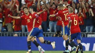 Италия–Испания. Видео голов иобзорматча