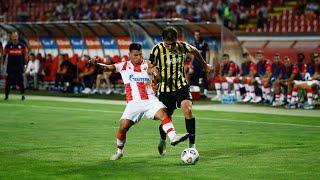 Обзор матча «Црвена Звезда» - «Кайрат» - 5:0. Лига Чемпионов УЕФА. 2-й отборочный раунд