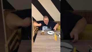 Хочу Пожрать ТВ Серый снимает как Гриша Полное ТВ опять много ест видео из Тик-Тока