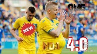все голы Украины забито в ворота Кипр. Украина vs Кипр.07.06.2021.4:0