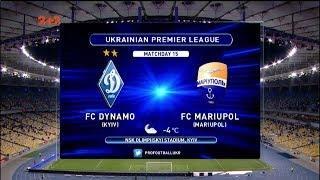Динамо - Мариуполь - 3:0. Обзор матча