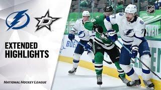 Tampa Bay Lightning vs Dallas Stars | Mar.02, 2021 | Game Highlights | NHL 2021 | Обзор матча