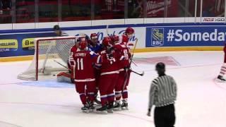 Выставочный матч Россия - Дания. Видеообзор и комментарии игроков