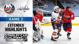Нью-Йорк Айлендерс - Вашингтон Кэпиталз | Stanley Cup 2020 | Game 2 | Aug.14, 2020 | Обзор матча
