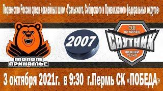 2007 г.р. Молот- Спутник