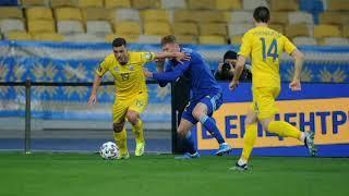 Казахстан забивает гол. Казахстан Украина 1-1