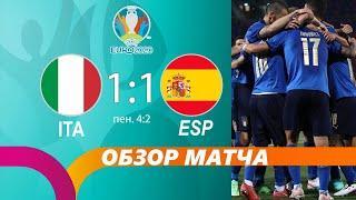 Италия Испания 1:1 | Обзор матча | Разбор матча | Лучшие моменты