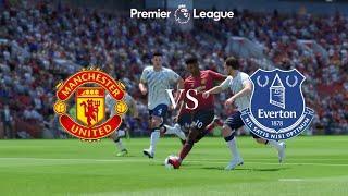 Манчестер Юнайтед - Эвертон Обзор матча 02.10.2021. Чемпионат Англии.