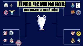 Лига Чемпионов 2021: 1/8 Все результаты.  Реал и Манчестер Сити выиграли на выезде.