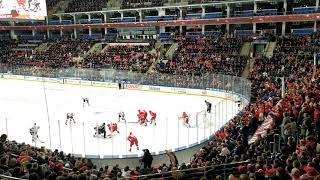 Хоккей Спартак- СКА 3-1. Фанаты Спартака.