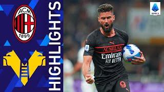 Milan 3-2 Verona | A thrilling win for the Rossoneri at San Siro | Serie A 2021/22