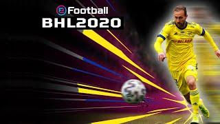 FC BATE vs FC Isloch. Match highlights in PES 2020 style