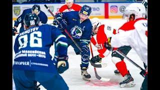 Видеообзор матча МХЛ Мамонты Югры - Спутник 11.12.2020