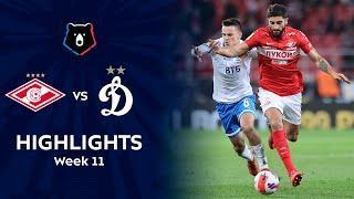 Highlights Spartak vs Dynamo (2-2) | RPL 2021/22