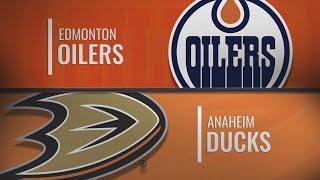 Эдмонтон - Анахайм | НХЛ обзор матчей 10.11.2019г.| Edmonton Oilers vs Anaheim Ducks