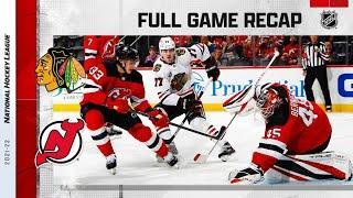Chicago Blackhawks vs New Jersey Devils | Oct.15, 2021 | Game Highlights | NHL 2022 | Обзор матча