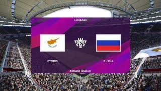 Pes 2021 | Кипр - Россия  Обзор Матча
