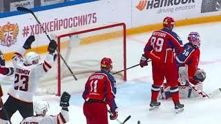 ЦСКА - Амур 1-5 Обзор матча 13.10.21 КХЛ Голы и Яркие моменты матча