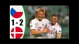 Дания обыграла Чехию! Главная сенсация Евро! Дания - Чехия - обзор!