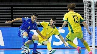 Обзор матча Литва - Казахстан - 0:3. Чемпионат мира. Групповой этап