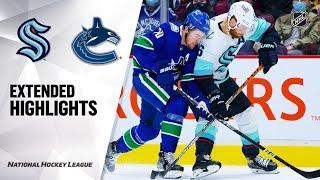 Seattle Kraken vs Vancouver Canucks | Oct.05, 2021 | Preseason | Game Highlights | Обзор матча