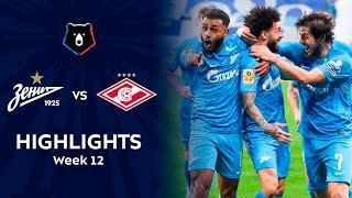 Highlights Zenit vs Spartak (7-1) | RPL 2021/22