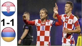 Croatia vs Armenia Highlights - International Friendly 2021