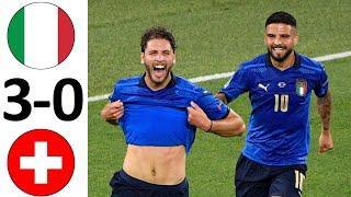 Италия разгромила Швейцарию! Лучшая сборная на Евро! Италия - Швейцария - обзор