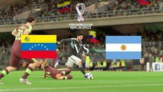 Венесуэла - Аргентина Обзор матча 03.09.2021. Квалификация ЧМ 2022.