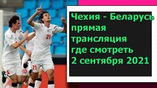 Чехия - Беларусь прямая трансляция где смотреть 2 сентября 2021