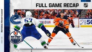 Vancouver Canucks vs Edmonton Oilers | Oct.13, 2021 | Game Highlights | NHL 2022 | Обзор матча