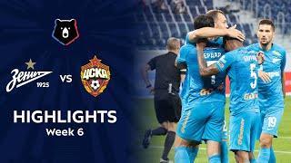 Highlights Zenit vs CSKA (1-0) | RPL 2021/22