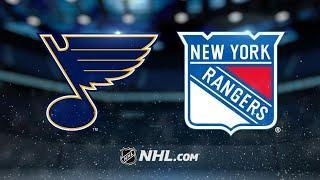 St. Louis Blues vs New York Rangers  Mar.03, 2020  Game Highlights  NHL 201920  Обзор матча