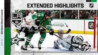Los Angeles Kings vs Dallas Stars   Oct.22, 2021   Game Highlights   NHL 2022   Обзор матча
