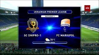 УПЛ   Чемпионат Украины по футболу 2021   Днепр-1 - Мариуполь - 2:1. Обзор матча
