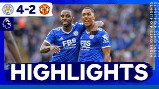 Foxes Hit Four Past United | Leicester City 4 Manchester United 2
