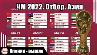 Чемпионат мира 2022. Отбор в Азии. 7 тур. Результаты. Расписание. Таблицы.
