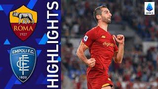 Roma 2-0 Empoli | Roma get back to winning ways | Serie A 2021/22