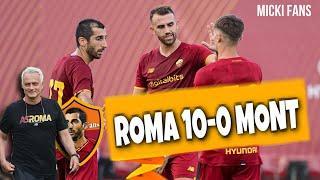 Рома уничтожила соперника. Рома 10 - 0 Монтекатини