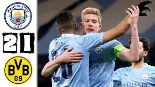 ???? Манчестер Сити - Боруссия Дортмунд 2-1 - Обзор Матча 1/4 Финала Лиги Чемпионов 06/04/2021 HD ??