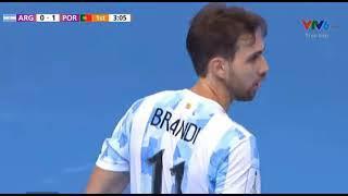 ФИНАЛ: Португалия - Аргентина 1-0 | ПЕРВЫЙ ТАЙМ [ВИДЕО]
