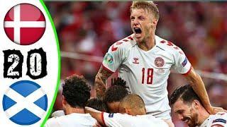 ???? Дания - Шотландия 2-0 - Обзор Отборочного Матча Чемпионат Мира 01/09/2021 HD ????