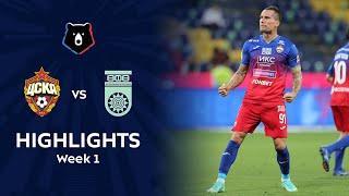 Highlights CSKA vs FC Ufa (1-0) | RPL 2021/22