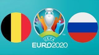 БЕЛЬГИЯ - РОССИЯ. ЕВРО-2020. 1-Й ТУР ГРУППА Б. ОБЗОР | FIFA-Ванга прогноз