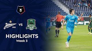 Highlights Zenit vs FC Krasnodar (3-2) | RPL 2021/22