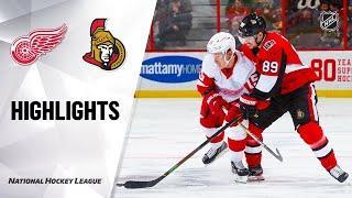 Detroit Red Wings vs Ottawa Senators | Feb.29, 2020 | Game Highlights | NHL 2019/20 | Обзор матча
