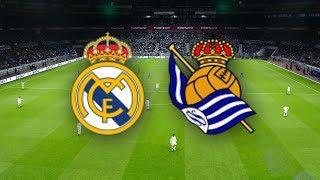 Реал Мадрид - Реал Сосьедад обзор матча Ла Лига футбол PES 2020