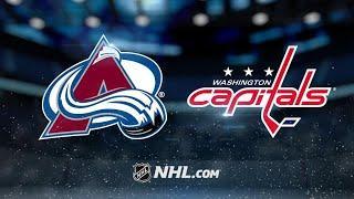 Colorado Avalanche vs Washington Capitals   Oct.19, 2021   Game Highlights   NHL 2022   Обзор матча