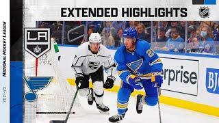Los Angeles Kings vs St. Louis Blues | Oct.23, 2021 | Game Highlights | NHL 2022 | Обзор матча